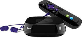 Roku 3 player device