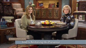 God Is Restoring His Presence - Monday