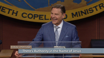 There's Authority in the Name of Jesus - Friday