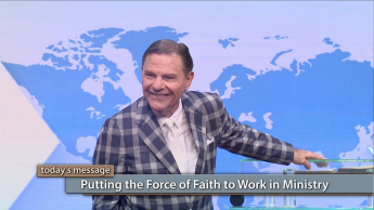 Putting the Force of Faith to Work in Ministry-Monday