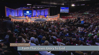 Faith That Gives Glory to God - Wednesday